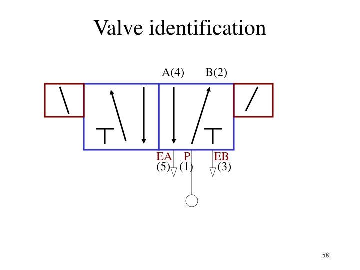 Valve identification