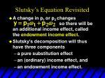 slutsky s equation revisited1