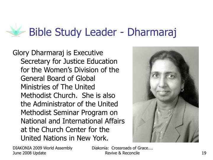 Bible Study Leader - Dharmaraj