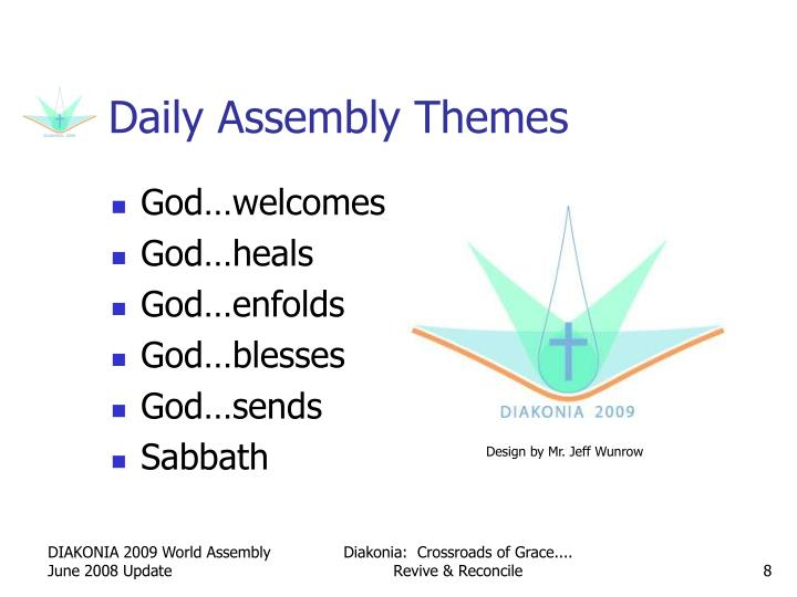 Daily Assembly Themes