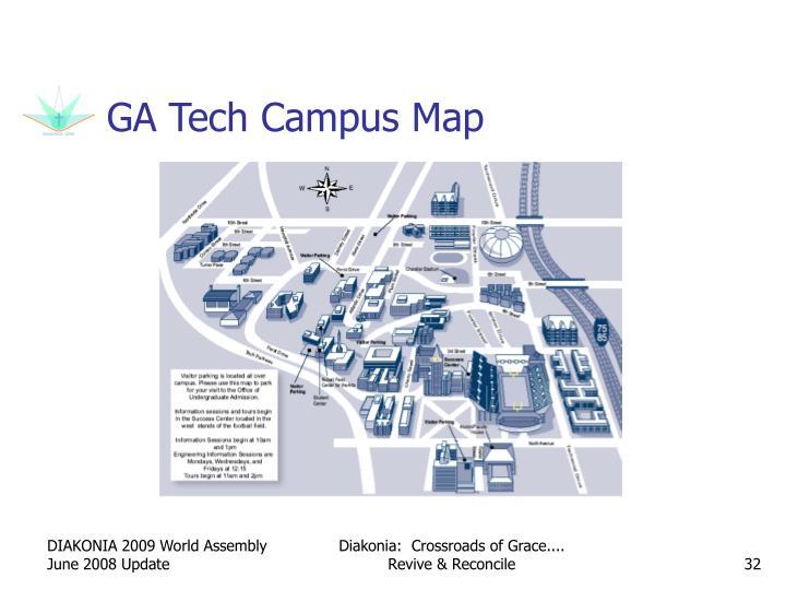 GA Tech Campus Map