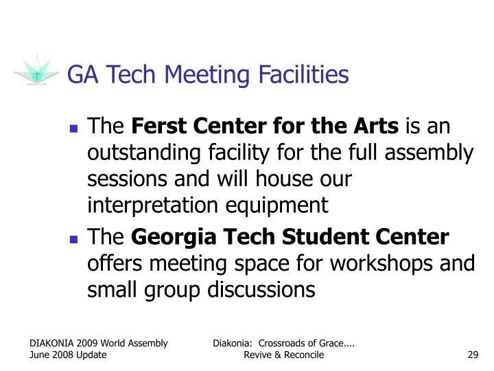 GA Tech Meeting Facilities