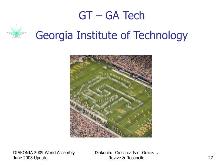 GT – GA Tech