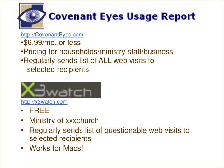 Covenant Eyes Demo