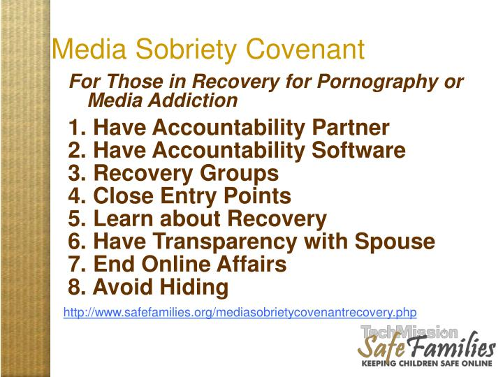 Media Sobriety Covenant
