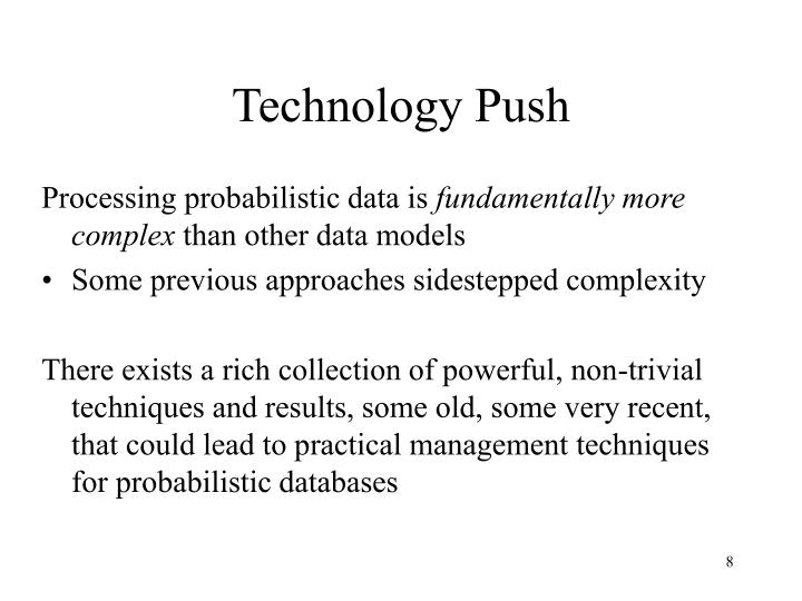 Technology Push
