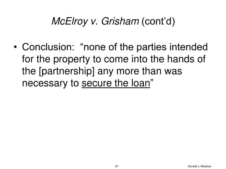 McElroy v. Grisham