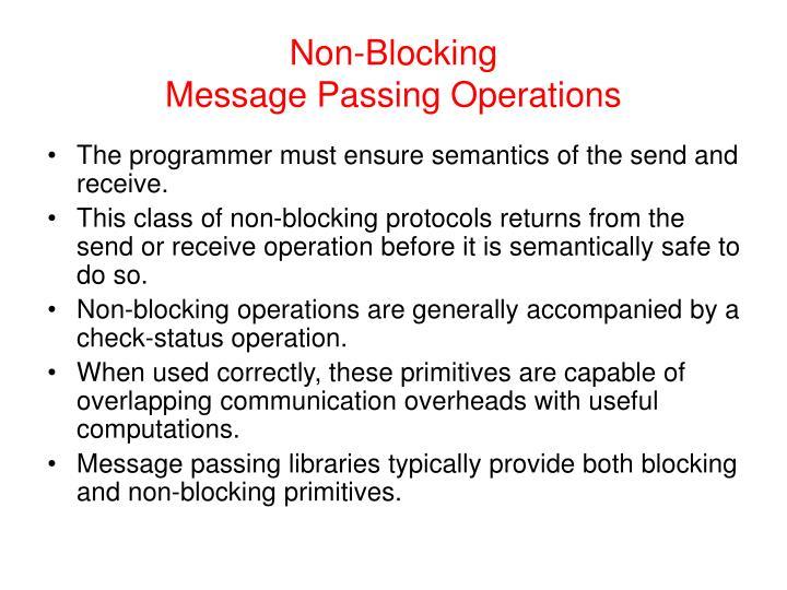 Non-Blocking