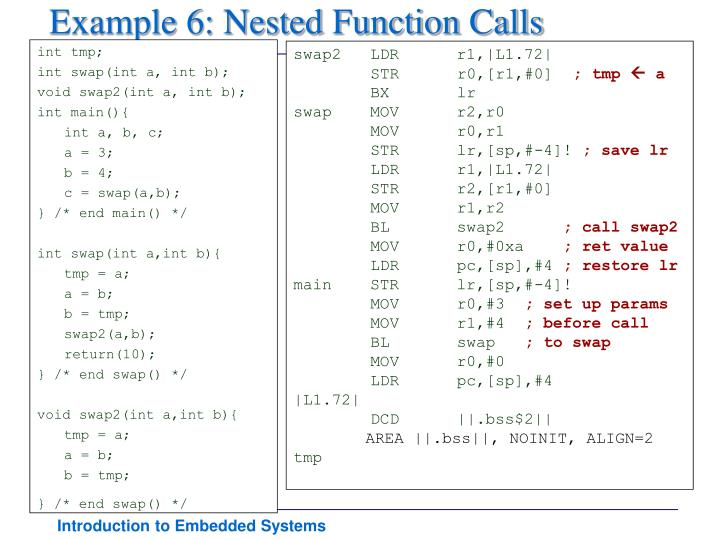 Example 6: Nested Function Calls