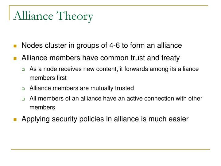 Alliance Theory