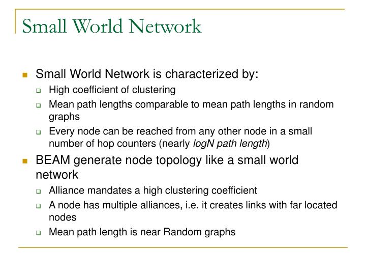 Small World Network