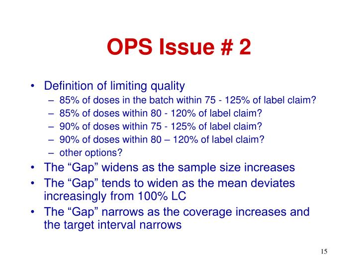 OPS Issue # 2