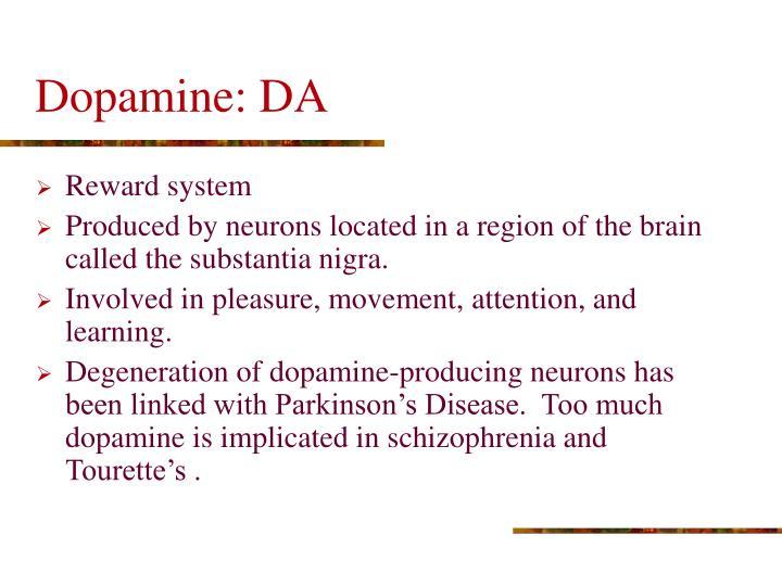 Dopamine: DA