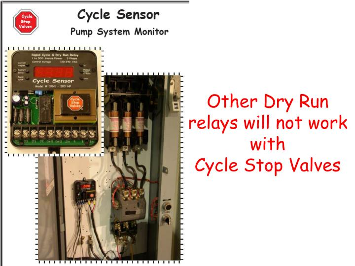 Other Dry Run relays will not work with