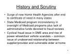 history and scrutiny1