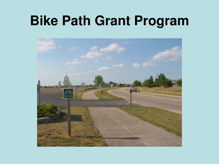 Bike Path Grant Program