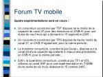 forum tv mobile5