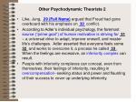 other psychodynamic theorists 2