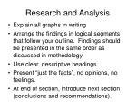 research and analysis2