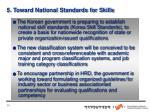 5 toward national standards for skills
