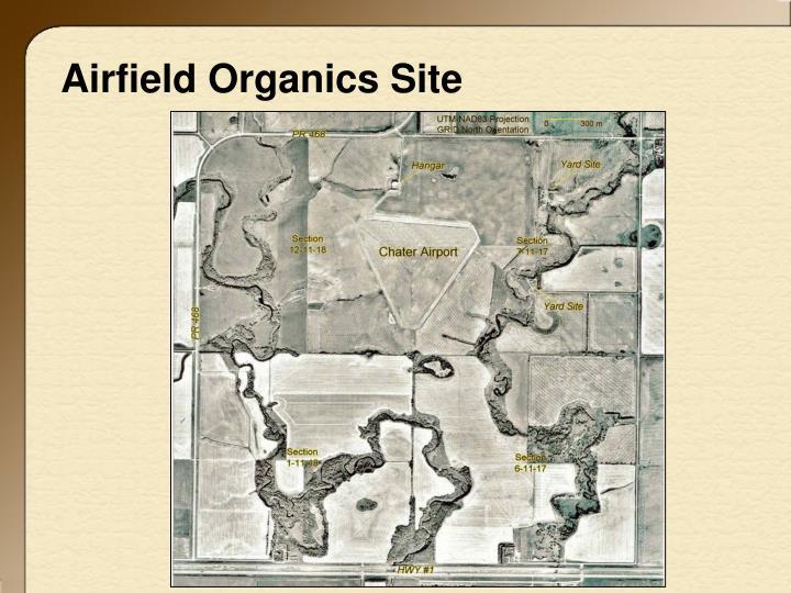 Airfield Organics Site