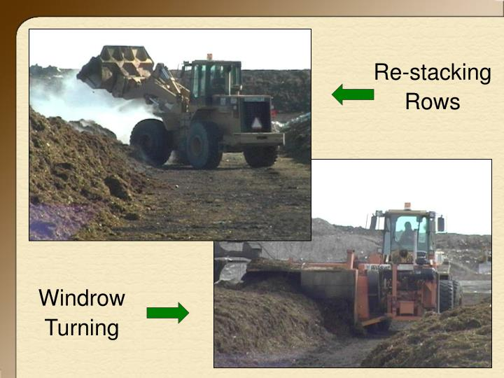 Re-stacking Rows
