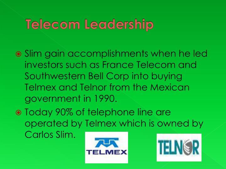 Telecom Leadership