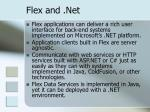 flex and net