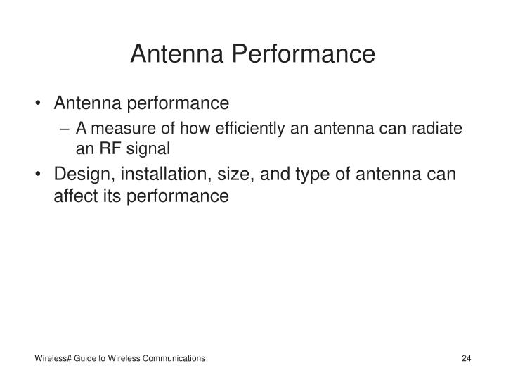 Antenna Performance
