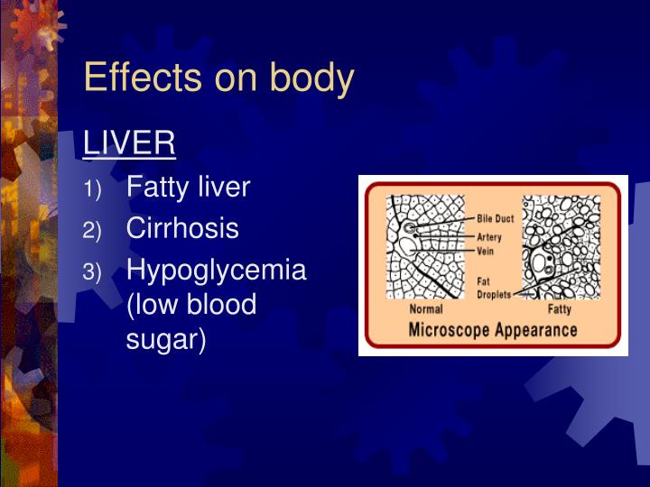 Effects on body