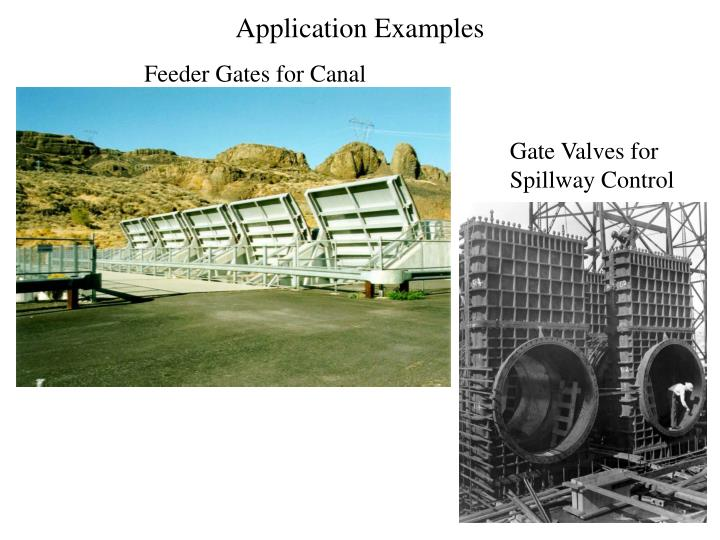 application examples n.