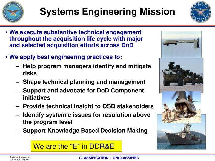 Systems Engineering Mission