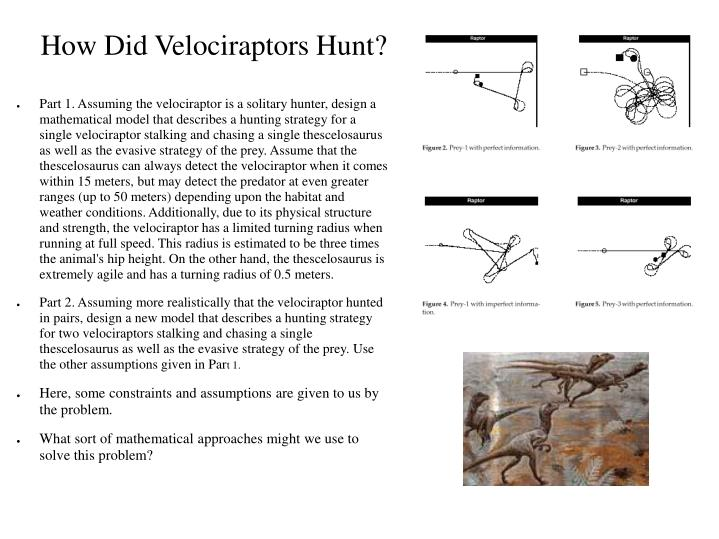 How Did Velociraptors Hunt?