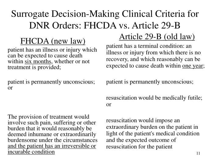 FHCDA (new law)