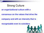 strong culture