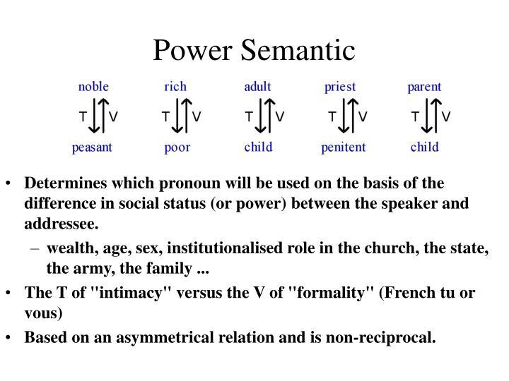 Power Semantic