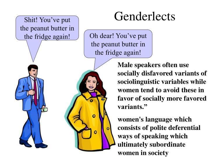 Genderlects
