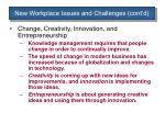 new workplace issues and challenges cont d2