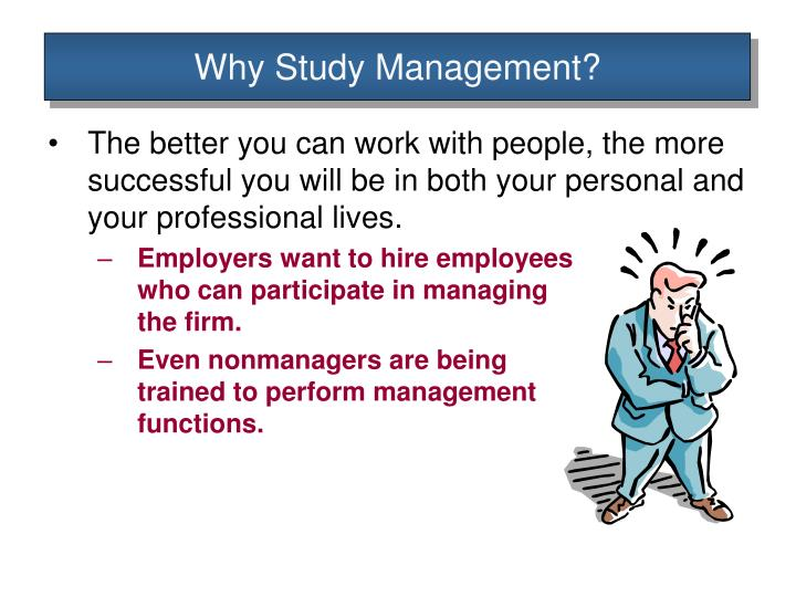 a study of management