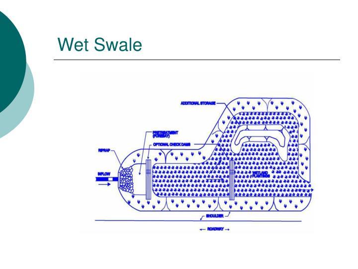 Wet Swale
