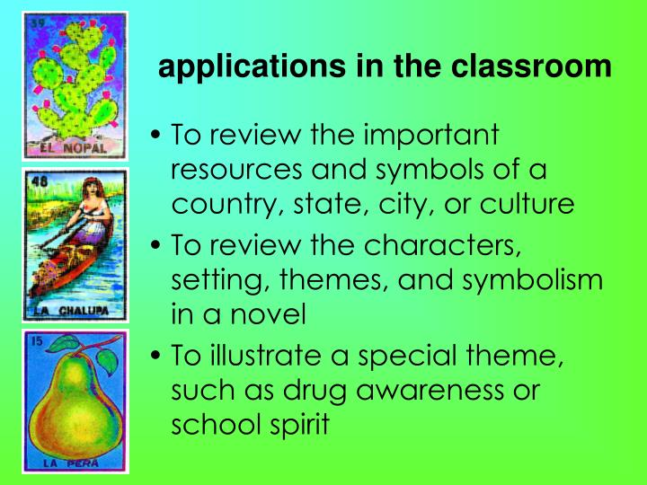 applications in the classroom