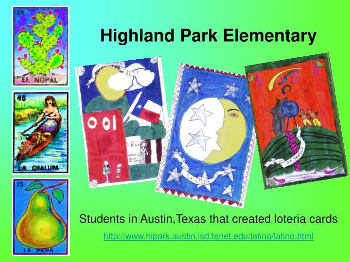 Highland Park Elementary