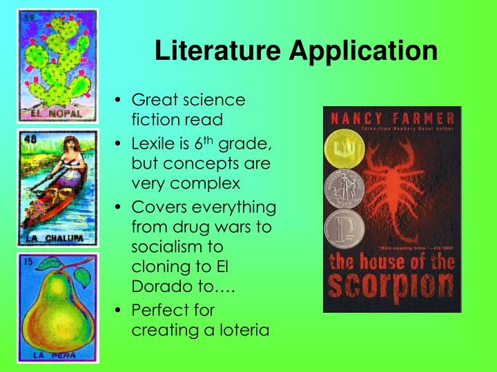 Literature Application