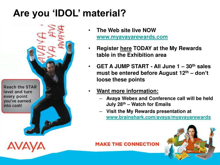 Are you 'IDOL' material?