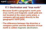 17 1 declination and true north