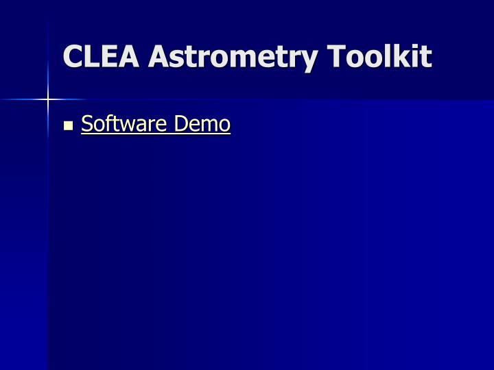 CLEA Astrometry Toolkit