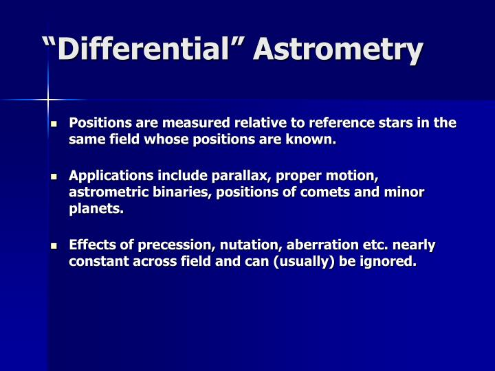 """""""Differential"""""""