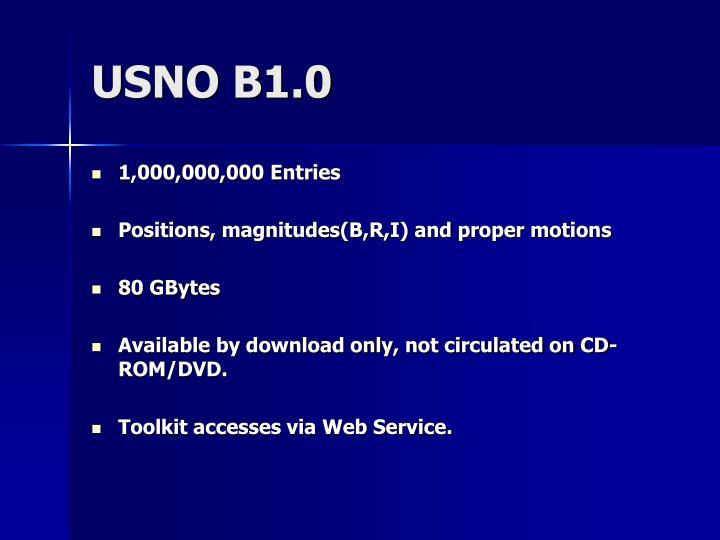 USNO B1.0