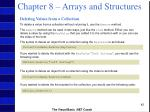 chapter 8 arrays and structures41