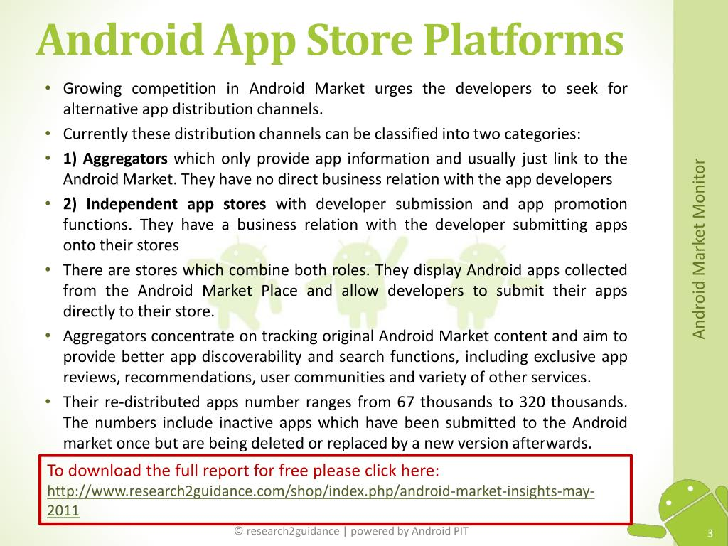 Android App Store Platforms